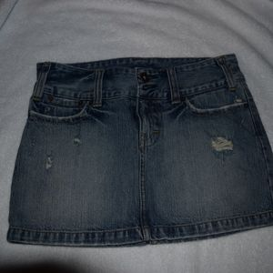 American eagle outfitters jean skirt size 2